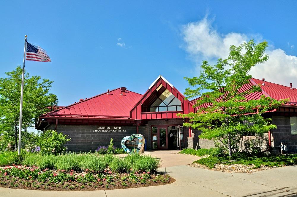 Visitors center visit loveland for Colorado plan
