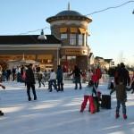 Ice Skating at Promenade Shops