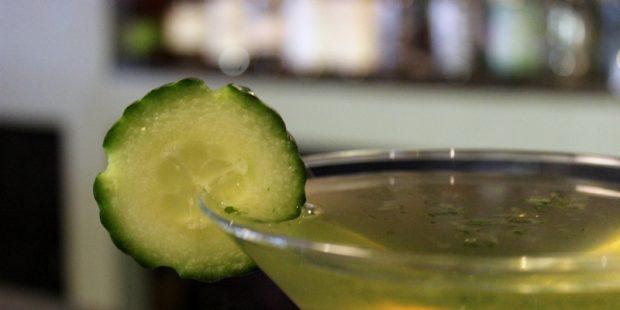 Loveland Food Tour, martini at Generations. Visit Loveland