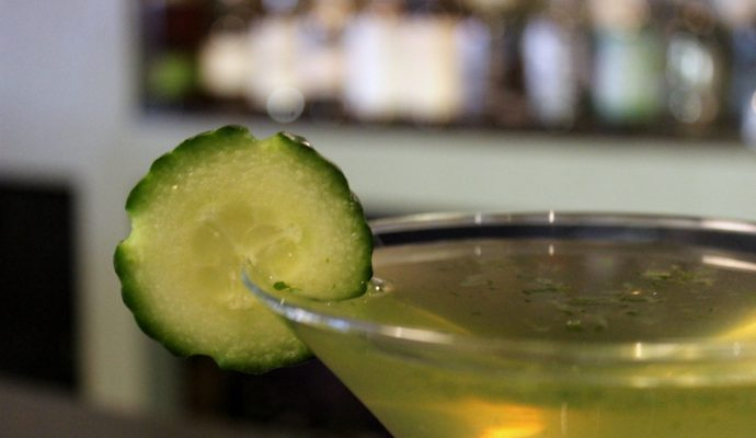 Loveland Food Tour, martini at Generations. Visit Loveland