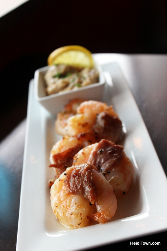 Loveland Food Tour, shrimp appetizer at Slate. Visit Loveland