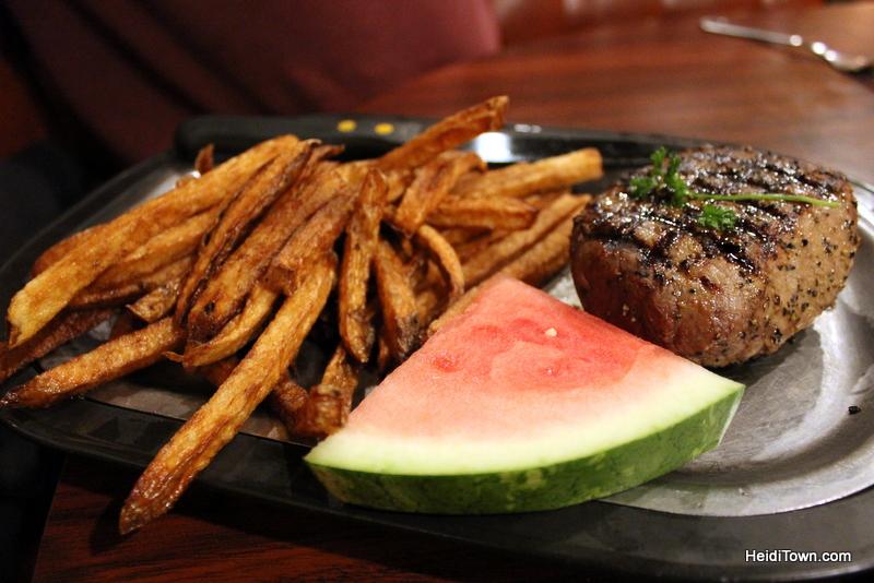 Loveland Food Tour, steak at the Black Steer. Visit Loveland