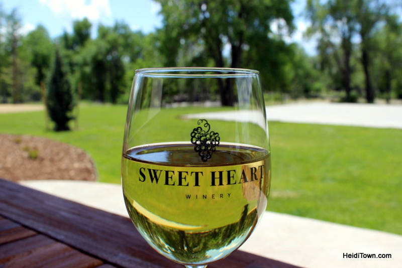 Loveland's New Destination for Wine Lovers, Sweet Heart Winery. Reisling