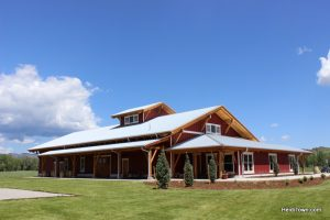 Loveland's New Destination for Wine Lovers, Sweet Heart Winery. building shot