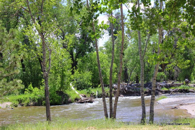 Loveland's New Destination for Wine Lovers, Sweet Heart Winery. river shot