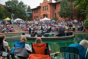 Free Outdoor Music in Loveland, Colorado this Summer