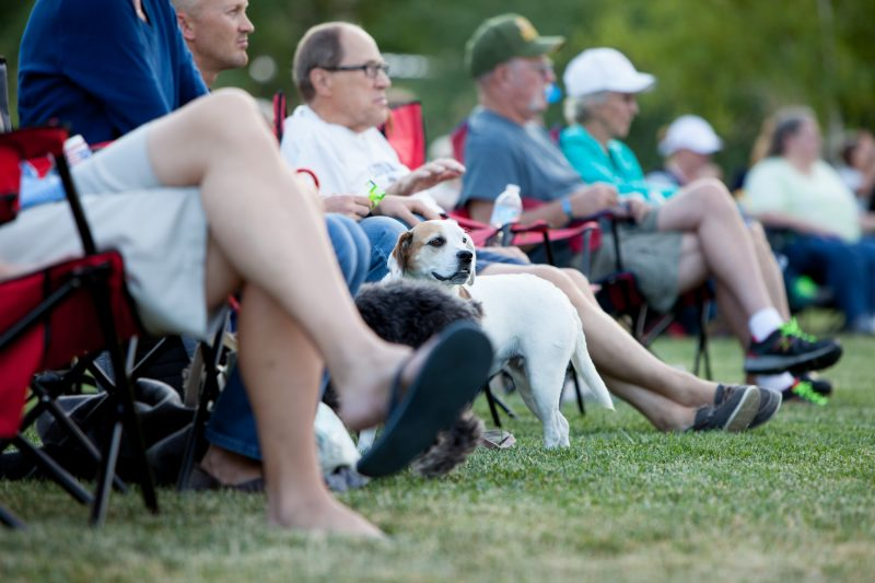 Free Outdoor Music in Loveland, Colorado this Summer Sounds of Centerra is dog-friendly