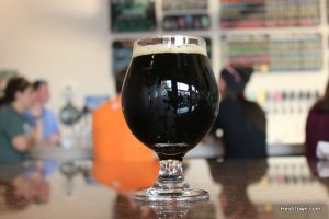 Fall Beers on Tap in Loveland, Colorado. Aleworks Darkess Day porter. Heidi Kerr-Schlaefer