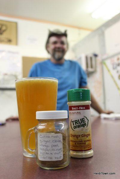 Fall beers in Loveland, Colorado. Buckhorn's gruit. Heidi Kerr-Schlaefer