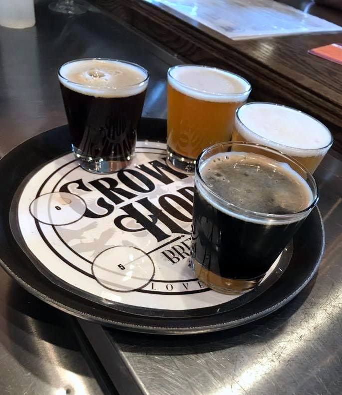 Fall beers on tap in Loveland, Colorado. From Crow Hop's FB page