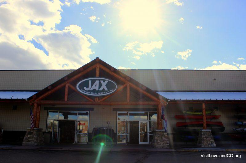Shopping Loveland, Colorado for the Holidays. JAX. Photo by Heidi Kerr-Schlaefer
