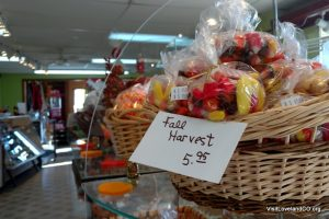 Shopping Loveland, Colorado for the Holidays. Sunny Jim's Candies. Photo by Heidi Kerr-Schlaefer