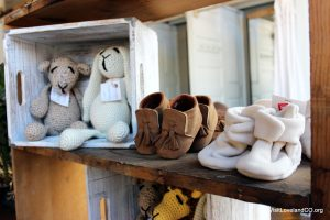 Shopping Loveland, Colorado for the holidays. Vintage Willow baby section. Photo by Heidi Kerr-Schlaefer