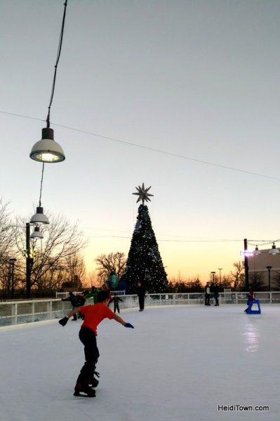 Winter Getaway Packages in Loveland, Colorado, ice skating shot