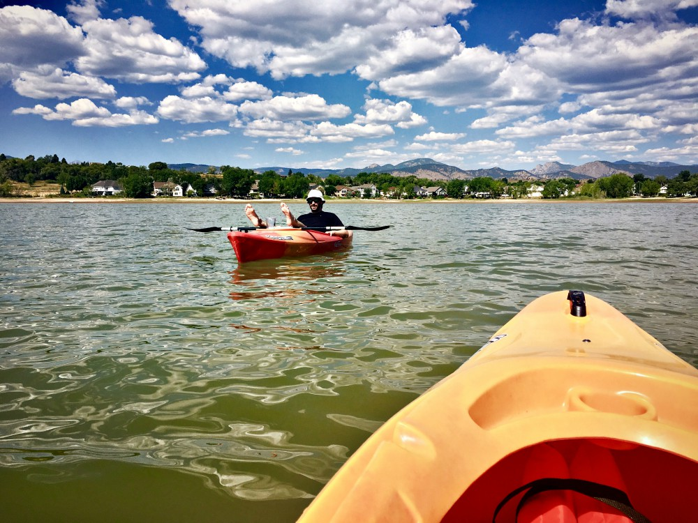 On the Water in Loveland, Colorado Boedeker Res