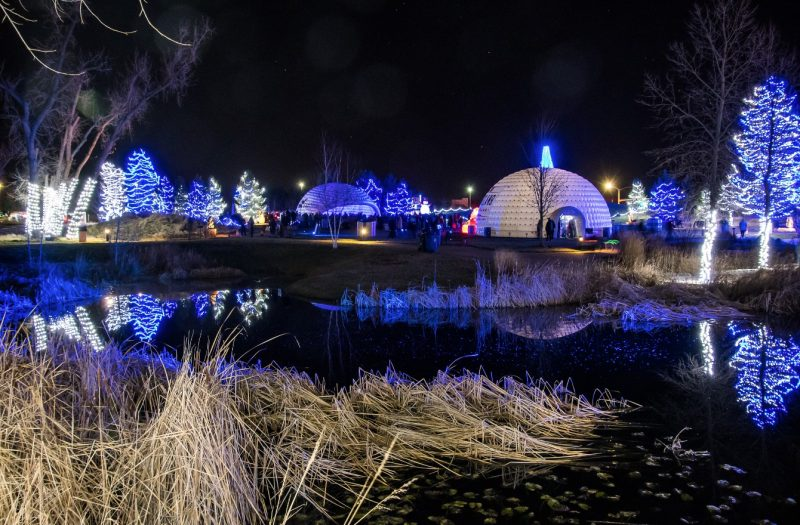 Follow the Loveland Light Trail this Holiday Season. Winter Wonderlights